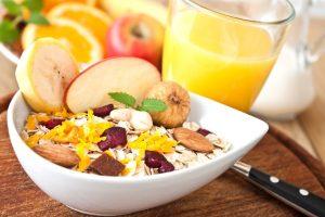 Frühstücken macht schlank