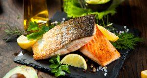 Die in Fischen enthaltenen Fette sind gesund