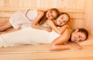 Sauna auch für Kinder und Schwangere?