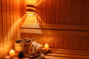 Sauna stärkt die Abwehr und entspannt