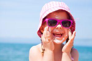 Kinder vertragen nicht zuviel Sonne