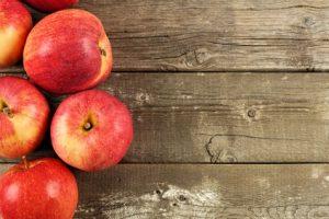 Äpfel sind gut bei Darmträgheit und Durchfall
